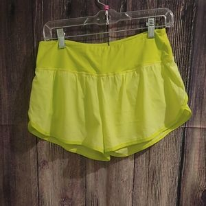 Zyia Lemon Trainer Shorts